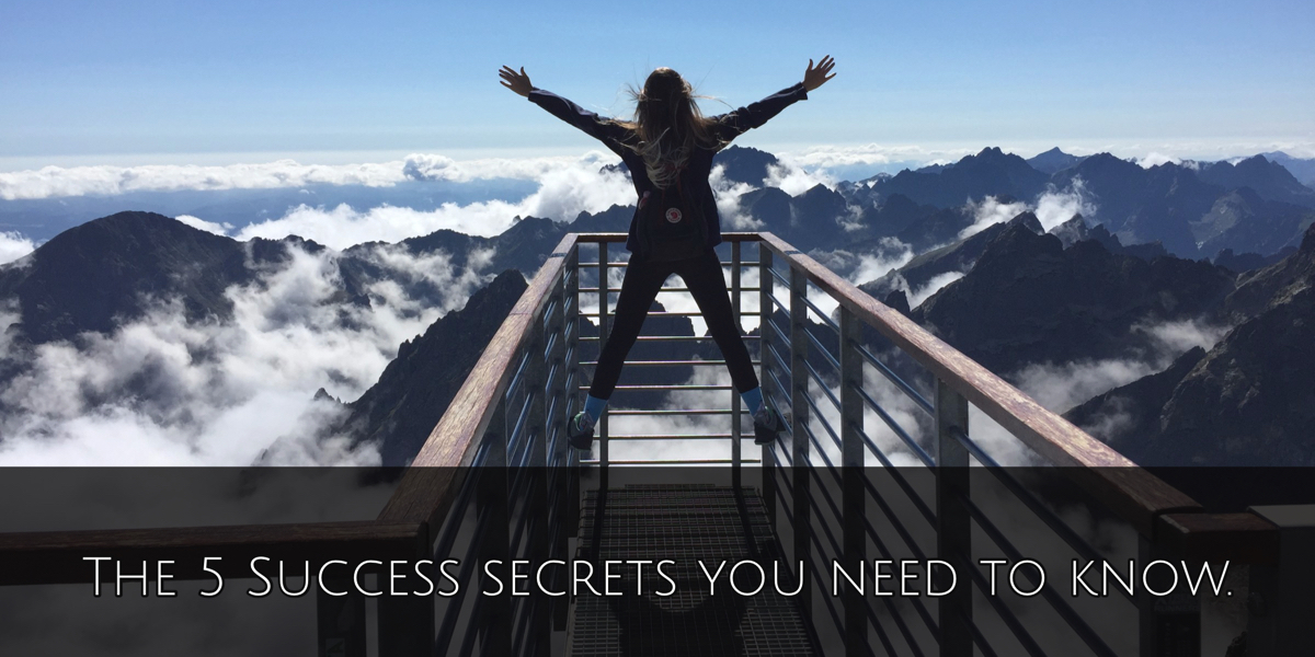5 Success Secrets You Need To Know